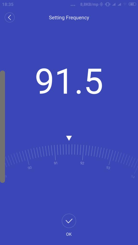 Roidmi 3S app frekvenciaállítás