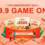 Vásárlási útmutató a Banggood 13. szülinapi leárazásához – kulcs a 10 ezres bónuszokhoz